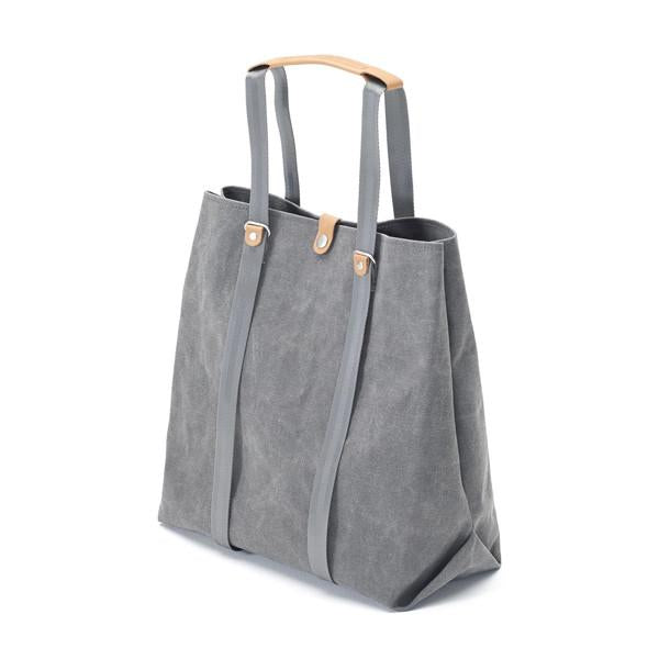 Qwstion Shopper V1 Singapore - Tote Washed Grey - the-Expedition.com