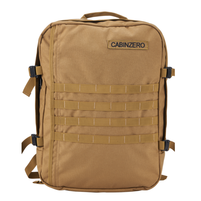 CabinZero 36L Adventure Military Singapore - Backpack Desert Sand - the-Expedition.com