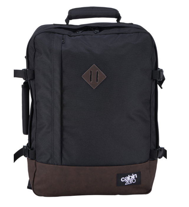 CabinZero 44L Vintage Singapore - Backpack Vintage Absolute Black - the-Expedition.com