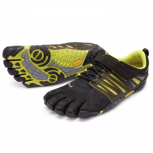 Vibram FiveFingers V-Train Singapore - Footwear Mens Black/Green 40 - the-Expedition.com