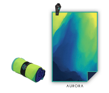 Acteon Compact Antibacterial Microfiber Gym Towels Singapore - Towel Aurora - the-Expedition.com