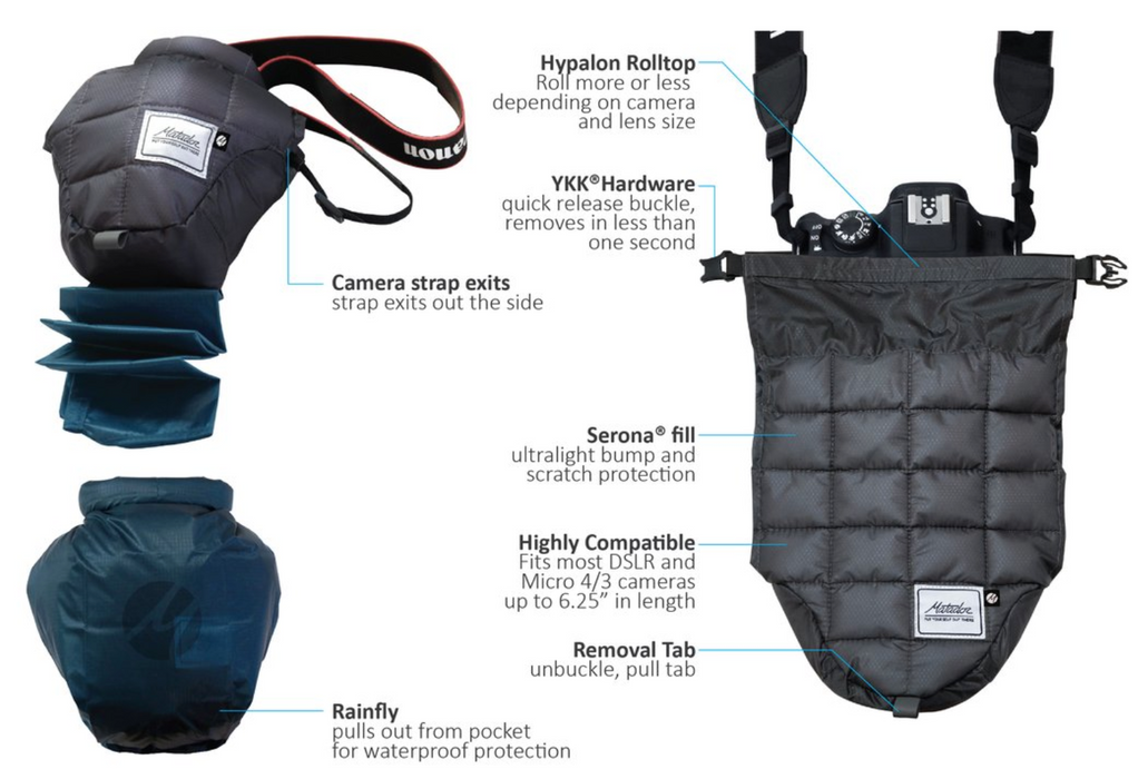 Matador Camera Base Layer Singapore - Camera Case  - the-Expedition.com