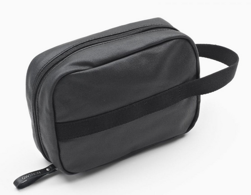 Qwstion Toiletry Kit V1 Singapore - Toiletry Pouch Organic Jet Black - the-Expedition.com
