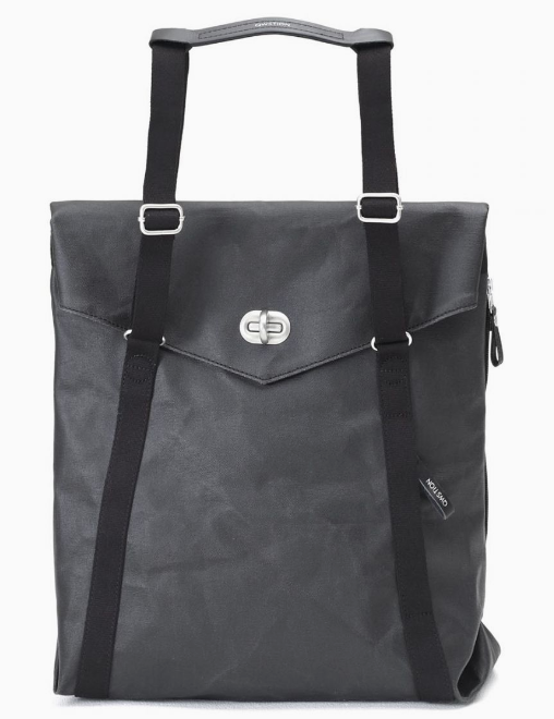 Qwstion Tote V1 Singapore - Tote Organic Jet Black - the-Expedition.com