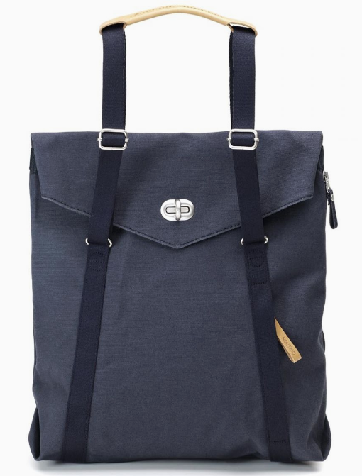 Qwstion Tote V1 Singapore - Tote Organic Navy - the-Expedition.com