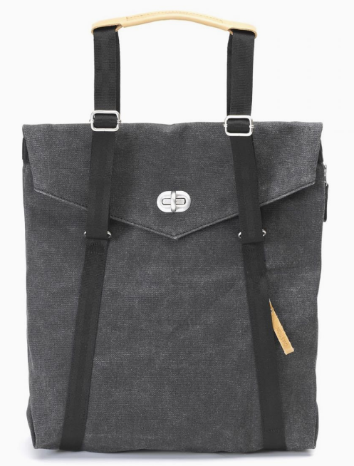 Qwstion Tote V5 Singapore - Tote Washed Black - the-Expedition.com