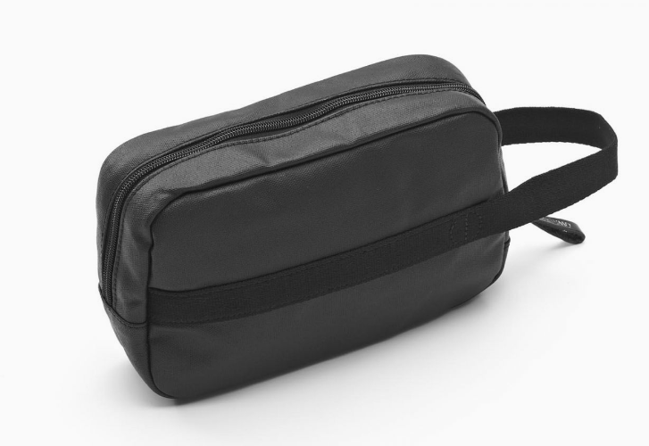 Qwstion Travel Kit V2 Singapore - Toiletry Pouch Organic Jet Black - the-Expedition.com