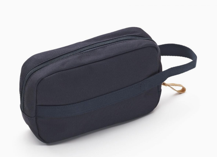 Qwstion Travel Kit V2 Singapore - Toiletry Pouch Organic Navy - the-Expedition.com