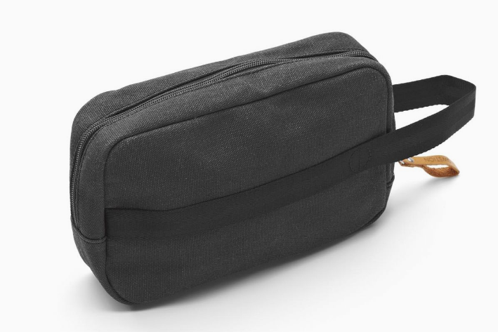 Qwstion Travel Kit V2 Singapore - Toiletry Pouch Washed Black - the-Expedition.com