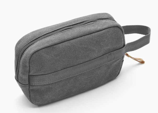 Qwstion Travel Kit V2 Singapore - Toiletry Pouch Washed Grey - the-Expedition.com
