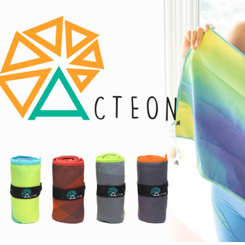 Acteon Compact Antibacterial Microfiber Beach Towels Singapore - Towel  - the-Expedition.com