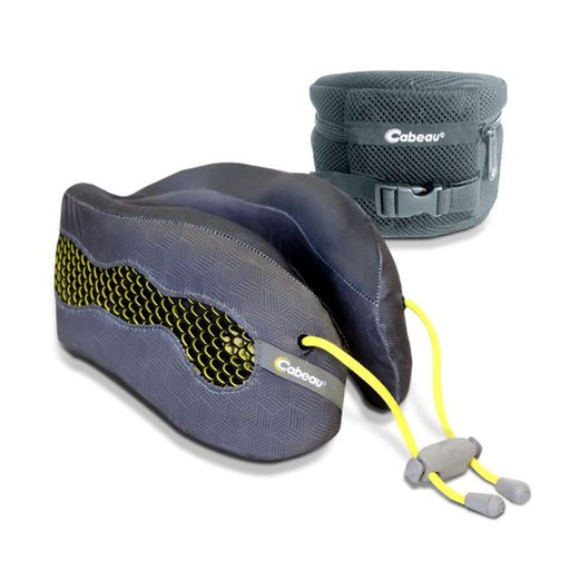 Cabeau Evolution Cool Travel Pillow Singapore - Travel Pillow Titanium - the-Expedition.com