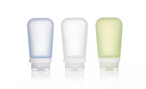Humangear GoToob+ 3-Pack Singapore - Soap Container Clear/Green/Blue / Small - the-Expedition.com