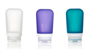 Humangear GoToob+ 3-Pack Singapore - Soap Container Clear/Purple/Teal / Small - the-Expedition.com