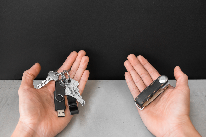 Orbitkey 2.0 Leather Singapore - Key Organizer  - the-Expedition.com