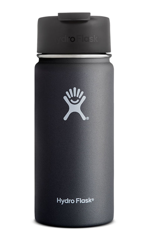Hydro Flask 16oz Coffee Flasks Singapore - Water Bottle Black - the-Expedition.com
