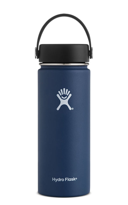 Hydro Flask 18 oz Wide Mouth Bottle Singapore - Water Bottle Cobalt - the-Expedition.com