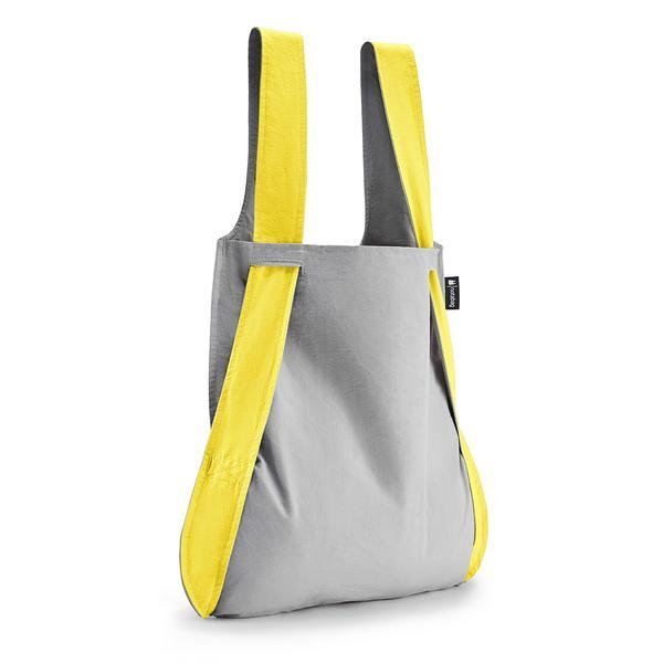 Notabag Singapore - Tote Grey Yellow - the-Expedition.com