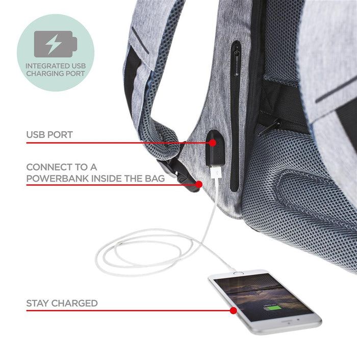 Bobby Compact Anti-Theft Backpack by XD Design Singapore - Backpack  - the-Expedition.com