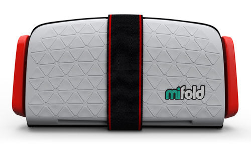 Mifold Booster Seat Singapore - Car Seat Pearl Grey - the-Expedition.com