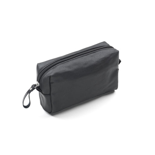 Qwstion Amenity Pouch V1 Singapore - Toiletry Pouch Organic Jet Black - the-Expedition.com