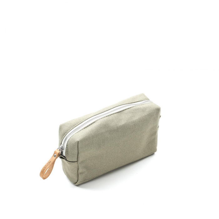 Qwstion Amenity Pouch V1 Singapore - Toiletry Pouch Organic Sage - the-Expedition.com