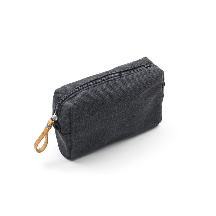 Qwstion Amenity Pouch V1 Singapore - Toiletry Pouch Washed Black - the-Expedition.com