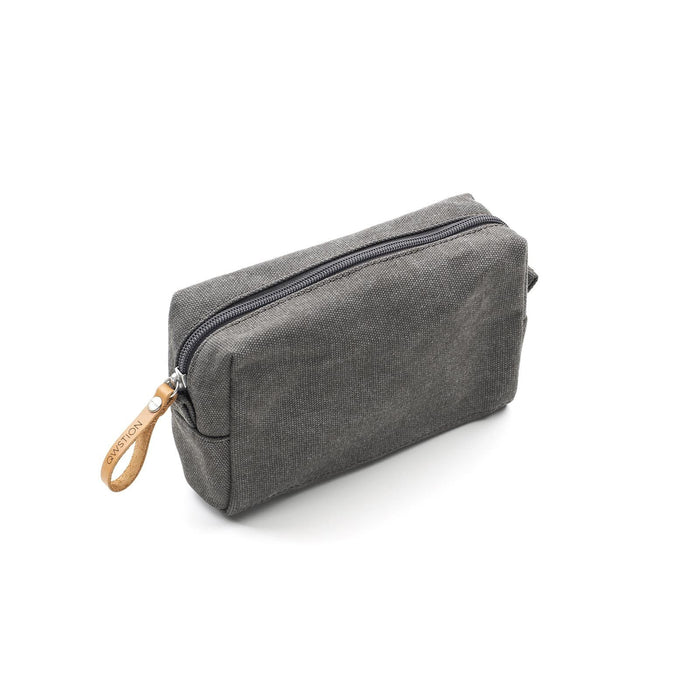Qwstion Amenity Pouch V1 Singapore - Toiletry Pouch Washed Grey - the-Expedition.com