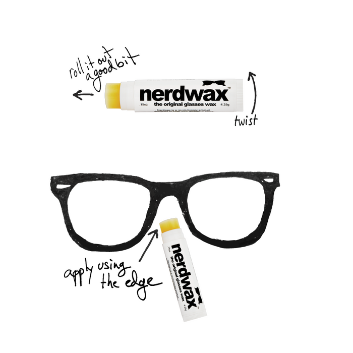 Nerdwax - The Original Glasses Wax Singapore - Glasses  - the-Expedition.com