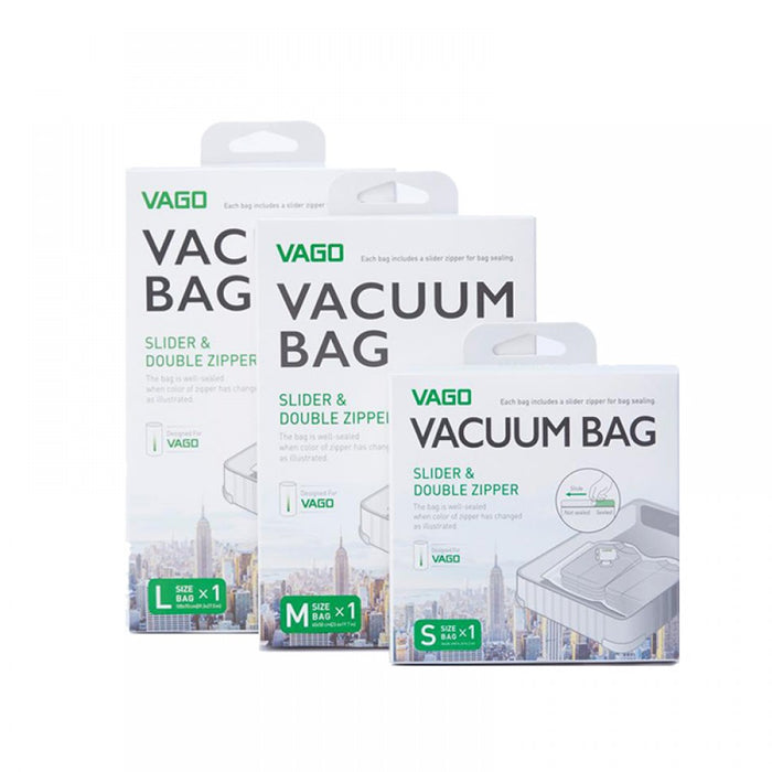 VAGO Compressor Bags Singapore - Packing Cube Vaccum Bag S - the-Expedition.com