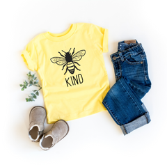 bee kind be kind unisex kid's t-shirt