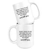 Writer's Coffee Mug