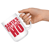 Santa's Favorite Ho Christmas Coffee Mug - HoMade Studio
