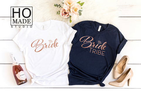 Bride Tribe Bachelorette Party Shirts - HoMade Studio