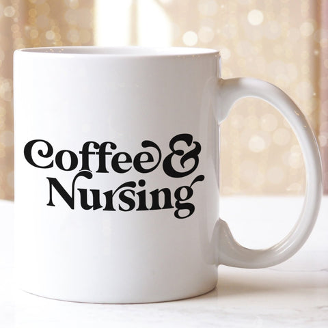 Coffee and Nursing Coffee Mug - HoMade Studio