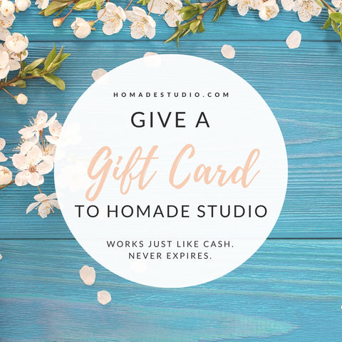 Gift Card for HoMade Studio