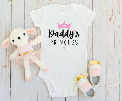 Daddy's Princess Baby Bodysuit - HoMade Studio