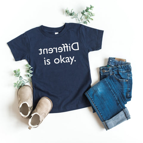 Different Is Okay Kid's T-Shirt - HoMade Studio