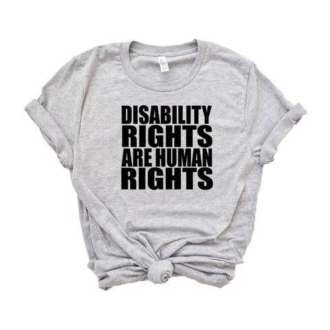 Disability Rights are Human Rights Women's T-Shirt