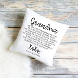 Hugs From Home Personalized Pillow - HoMade Studio