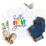 Hello First Grade Kid's T-Shirt - HoMade Studio