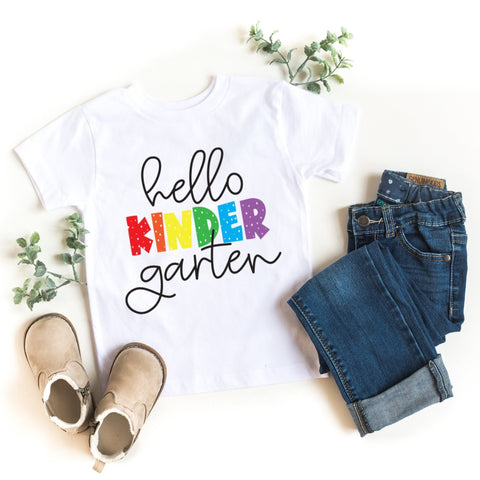 Hello Kindergarten Kid's T-Shirt - HoMade Studio
