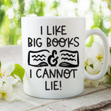 I Like Big Books & I Cannot Lie Coffee Mug - HoMade Studio