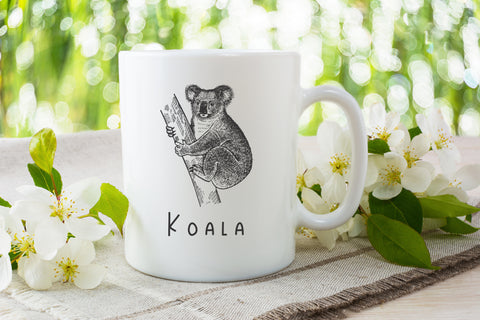 Animals of Australia Coffee Mug