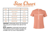 ladies relaxed size chart