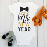Little Mr New Year Baby Bodysuit - HoMade Studio