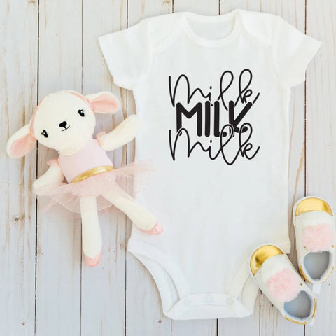Milk Milk Milk Baby Body Suit - HoMade Studio