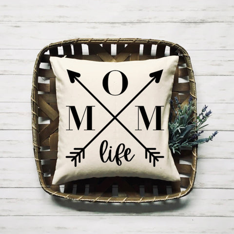 Mom Life Custom Handmade Pillow - HoMade Studio