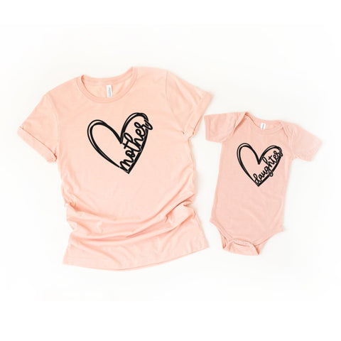 Mother and Daughter Matching Mommy and Me Shirts - HoMade Studio