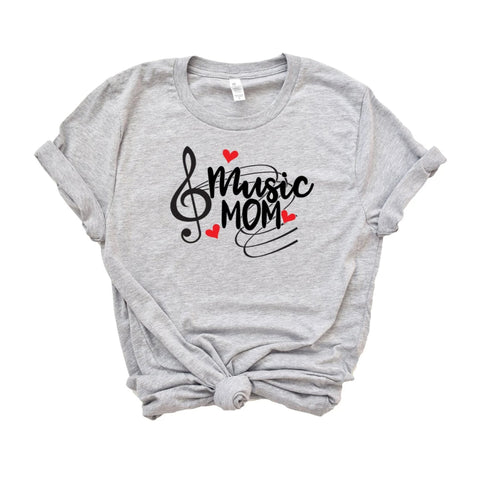 Music Mom Shirt - HoMade Studio